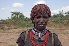 Женщина Hamar стоковое изображение