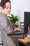 женщина офиса дела стоковое фото rf
