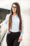 женщина офиса дела самомоднейшая Стоковая Фотография