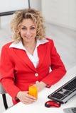 женщина офиса Стоковые Фотографии RF