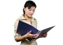 женщина офиса Стоковое Изображение RF