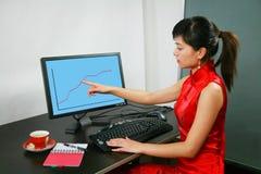женщина офиса Стоковое Фото