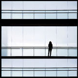 Женщина офиса Стоковое Изображение
