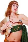 женщина охотника Стоковые Изображения