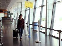 Женщина перемещения Стоковая Фотография