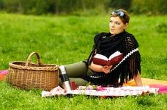 женщина пикника Стоковые Фото