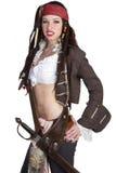женщина пирата Стоковое Изображение