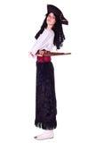 женщина пирата Стоковые Фото