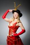Женщина пирата Стоковые Изображения