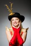 Женщина пирата Стоковое фото RF