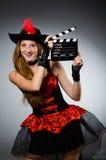 женщина пирата costume Стоковое фото RF