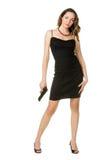 женщина пистолета Стоковая Фотография