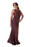 женщина платья шикарная Стоковое фото RF