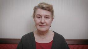 женщина пожилого портрета ся акции видеоматериалы