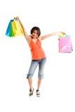 женщина покупкы Стоковые Фото