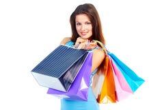Женщина покупок Стоковая Фотография RF