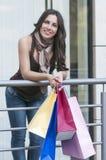 Женщина покупок стоковые фотографии rf