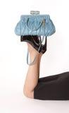 женщина пола лежа Стоковое Фото