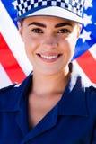 женщина-полицейский Стоковые Фото