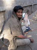 женщина попрошайки Стоковое Изображение RF