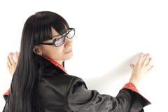 женщина портрета дела Стоковое фото RF