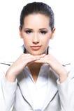 женщина портрета дела Стоковое Изображение RF