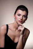 женщина портрета исключительных ювелирных изделий роскошная Стоковое Изображение