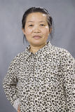 женщина портрета китайского изображения старая Стоковые Фото