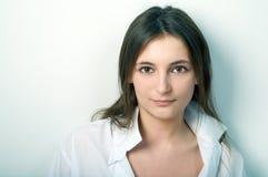 женщина портрета красотки Стоковое фото RF