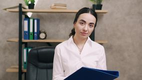 женщина портрета офиса дела