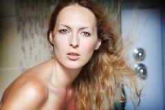 женщина портрета способа красотки Стоковые Фотографии RF