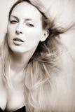 женщина портрета способа красотки Стоковые Изображения RF