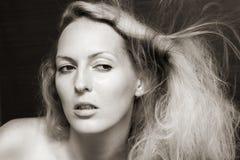 женщина портрета способа красотки Стоковая Фотография RF