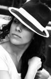женщина портрета способа стоковое фото