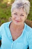 женщина портрета старшая сь Стоковая Фотография RF