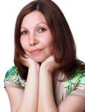 женщина портрета сь Стоковые Изображения