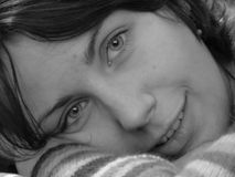 женщина портрета сь Стоковое Изображение