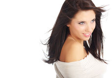 женщина портрета сь Стоковое Изображение RF