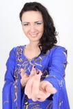 женщина портрета танцора сь Стоковые Изображения RF
