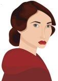 женщина портрета Стоковые Фотографии RF