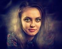 женщина портрета Стоковое Изображение