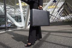 женщина портфеля стоковые фотографии rf
