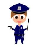 женщина-полицейский Стоковые Изображения