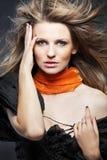 женщина привлекательных волос длинняя Стоковые Изображения RF