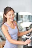 Женщина пригодности в спортзале Стоковая Фотография RF
