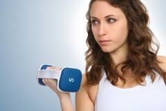 женщина пригодности тренировки Стоковые Фотографии RF