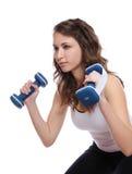женщина пригодности тренировки Стоковые Изображения RF