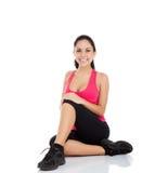 Женщина пригодности спорта Стоковое фото RF