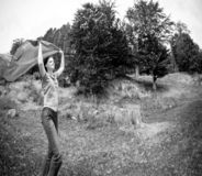 женщина природы Стоковая Фотография RF