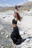 женщина птицы мистическая Стоковое фото RF
